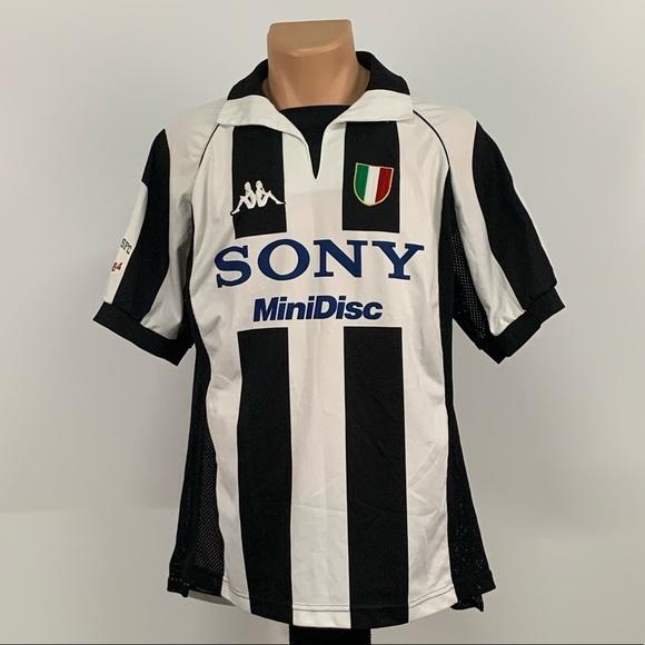 buy popular b34bc c0238 Vintage Kappa Juventus Soccer Jersey